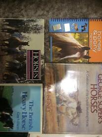 Assortment of book on horses and ponies