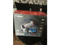 new canon dc95 handy cam mini digital dvd camcorder