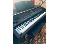 Yamaha Clavinova CVP 509, 88 weighted keys, keyboard, digital piano with stool