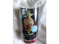 Star Wars - Talking Yoda Dashboard Buddy / Desktop Buddy - 5inch
