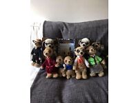 Collection of 10 original Compare the Market meerkats toys