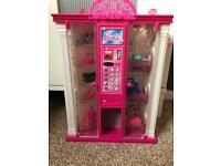 Barbie accessory wardrobe.