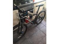 """Specialized hardrock men's mountain bike 26"""" wheels"""