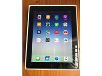 iPad 4 silver/black 64GB with box