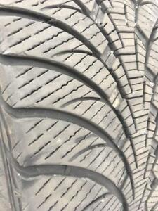 245/50/20 Goodyear ultragrip ice  9/32