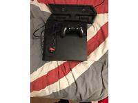 2016 PlayStation 4 500 GB with controller and Vertical cooling fan and controller charger stand