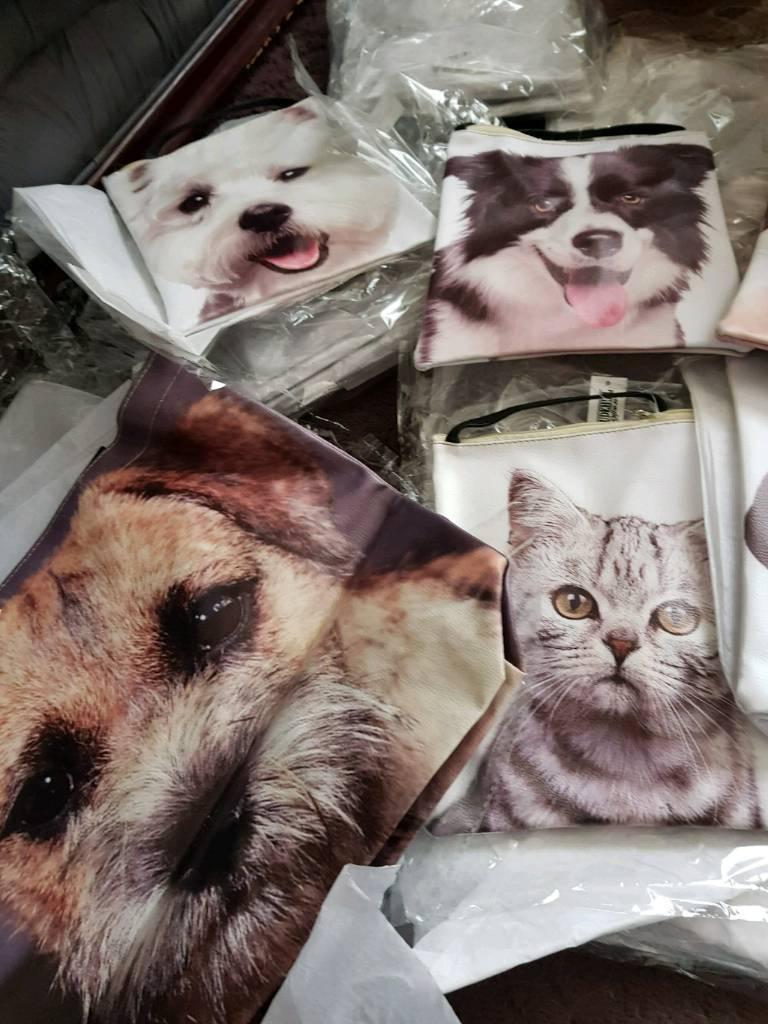 Animal hand bags