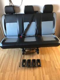 VW Transporter seats
