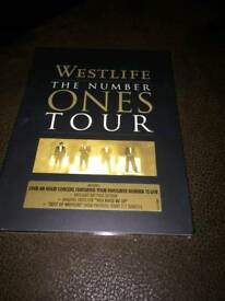 Westlife the number ones tour dvd