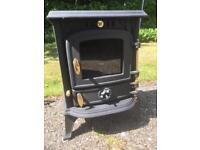 Multi fuel wood burner stove