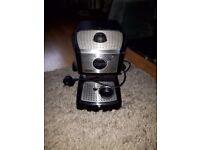DeLonghi EC 156 Coffee Maker Espresso Machine With Milk Frother No Coffee Stamp/Espresso Filter