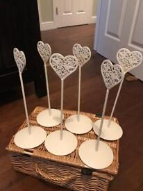 Wedding Table Place Holders - still available