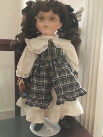 Anna ceramic doll