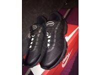 Nike air max 95 ultra Jacquard Tripple Black Mens UK Size 7