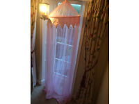 Beautiful bed canopy, suitable for single or double bed