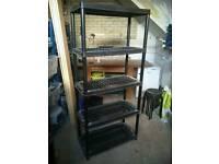 Garage shelving x2