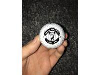 TaylorMade Manchester United Crested Golf Balls