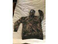 Camouflage fishing/shooting outfit
