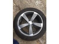 VW Audi TTRS Rotor Alloy Wheel (5x112 7.5J ET40)