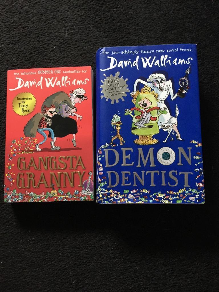 David Walliams kids books