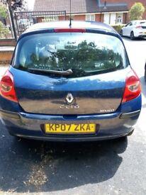 2007 Renault Clio 1.1 petrol,long mot,Cat S,cheap insurance,