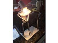 Golf figure lamp