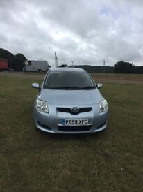 Toyota auris in very good condition well maintained