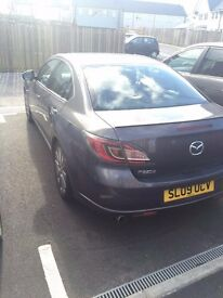 Mazda 6, 2009 Petrol, MOT March 2017