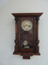 German Regulator Wall Clock