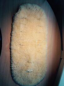 Natural Sheepskin Liner (straight)