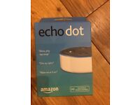 Amazon Echo Dot BNIB white (two available)