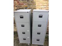 Metal Filing Cabinet 4 Drawer Office Filing Storage