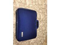 Blue laptop case