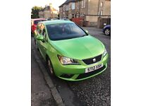 Seat Ibiza 5dr 2012 1.4 engine - looks great, nice and nippy and low mileage