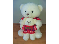 Big and Little Teddy 45cm tall