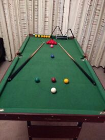 Snooker/Pool Table Excellent Condition (unused)