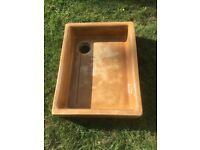 Belfast sink / garden planter, antique, heavy, large and shallow, Pick up from Epsom in Surrey