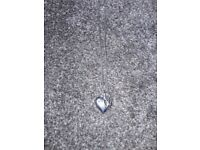 Hot Diamond love heart necklace silver excellent condition £45 ono
