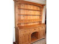 Beautiful Handmade Pine Dresser