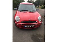 Mini ONE 05 plate 76K miles two lady owners BARGIN