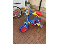 Paw patrol kids 12 inch bike