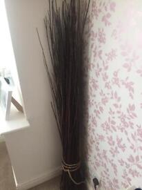 Brown ikea twigs