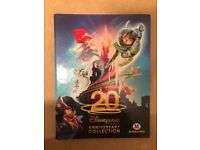 20th Disneyland Anniversary Collections Cards