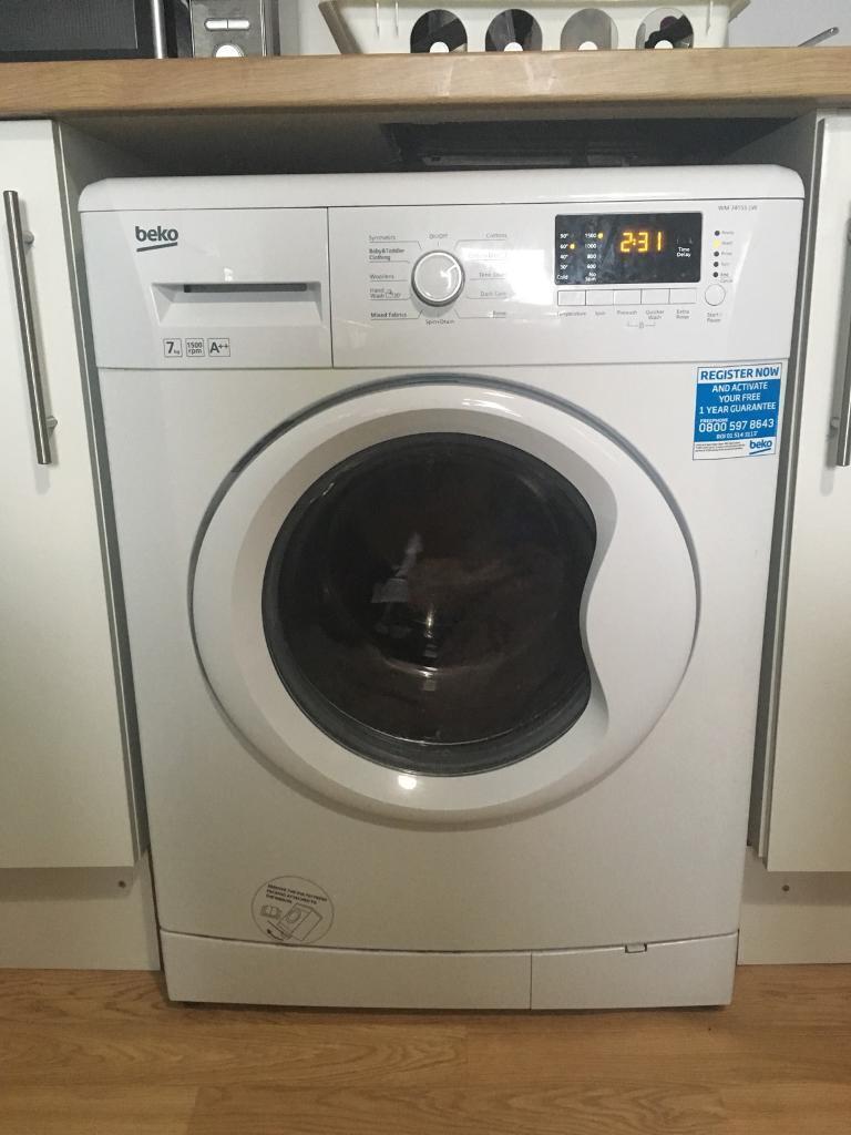 BEKO WM74155LW 7kg 1500rpm A++ Washing Machine