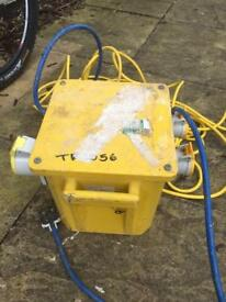 Junction box with 110 lead