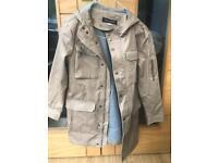 Boys river island coat with hood