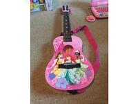 Disney princess mini acoustic guitar