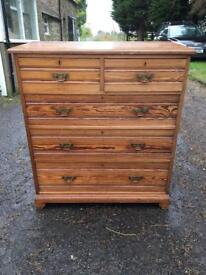 Pine drawers
