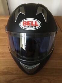 Bell Full Face Helmet in Matt Black, size large