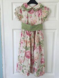Floral Dress (Size: 126cm)